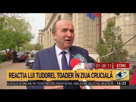 Ministrul Tudorel Toader, despre anunțul lui Klaus Iohannis