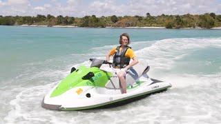 Teaching a Jetski How to Swim!