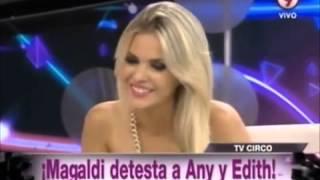 Nicolás Magaldi se hizo el misterioso y Alejandra Maglietti lo definió en Bendita