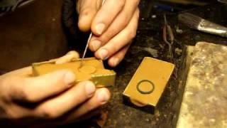 Casting silver in Delft clay-sand casting, pt 1.