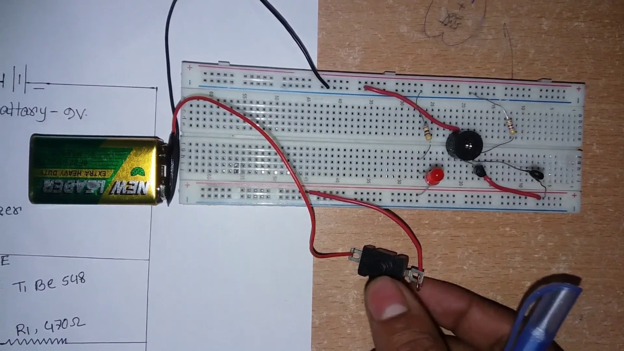Fire Alarms Circuits Simple