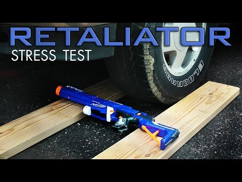 Nerf Elite Retaliator Stress Test