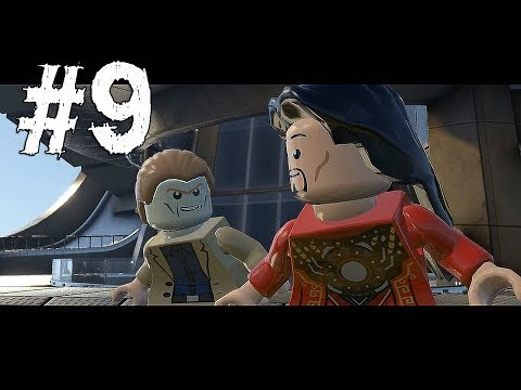 Lego Marvel Super Heroes Gameplay Walkthrough Part 9 - ALDRICH KILLIAN & MANDARIN - Mission 5
