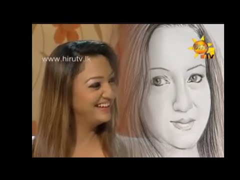 "Shamen Walker Artist's TV program with Anjula Rajapakshe ""MAMA NOWE MAMA"" Hiru tv"