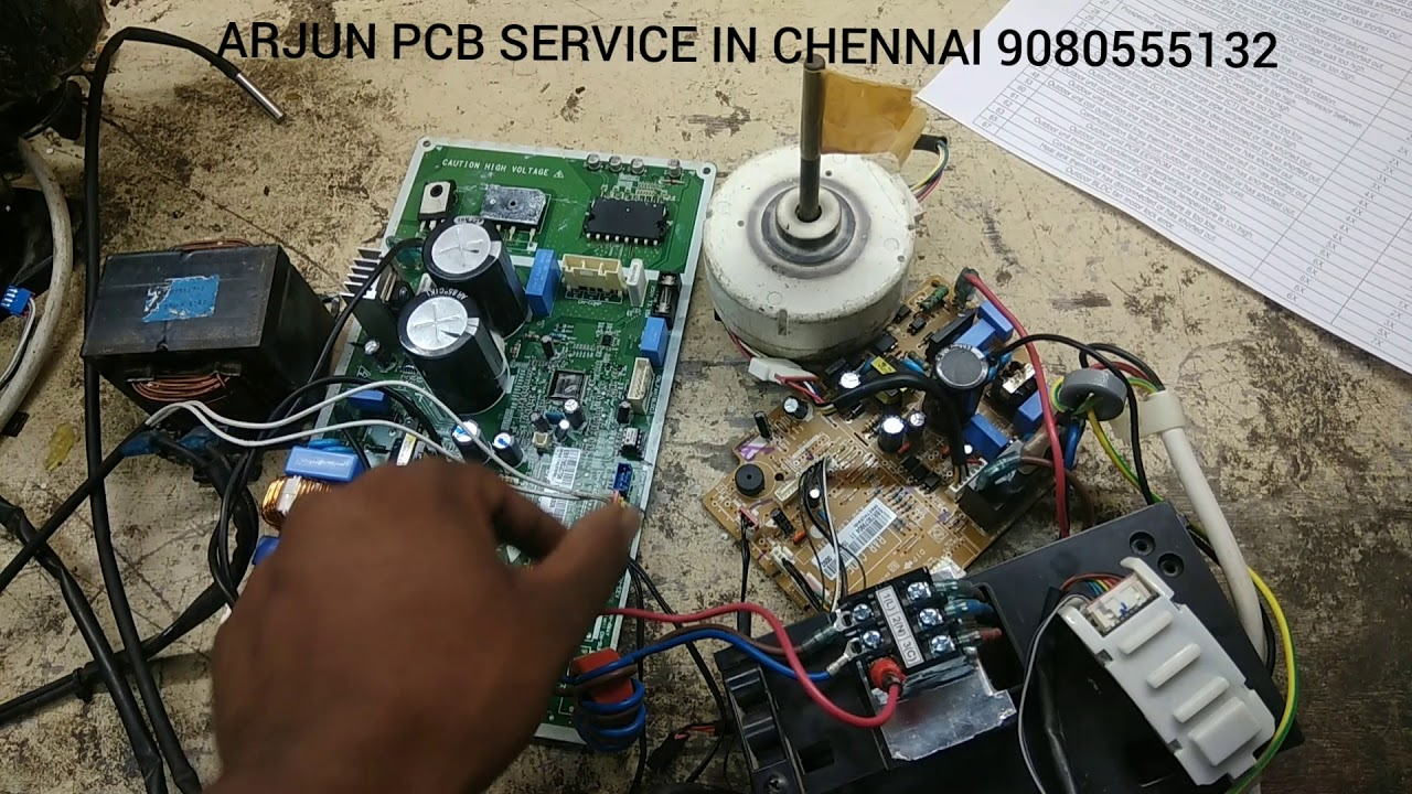LG Inverter AC PCB 5 Time Blinking problem error code list