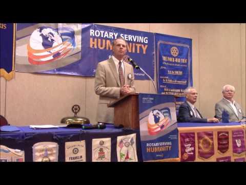 Columbia Rotary August 22, 2016