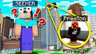 HIDE FROM THE WORLD'S BIGGEST SEEKER! (MCPE)
