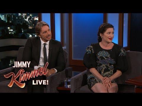 Jimmy Kimmel vs. Kathryn Hahn & Dax Shepard On Ohio Amusement Park