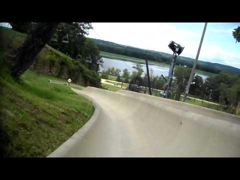 My Alpine Slide Run at Chestnut Mountain Ski area near Galena, IL