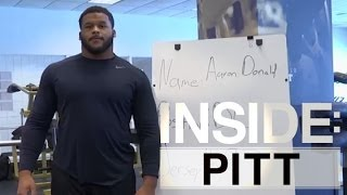 Inside | Pitt: Aaron Donald Performs at Pitt Pro Day