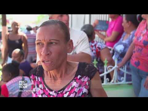 Shuttered school in Puerto Rico opens its doors for community in need