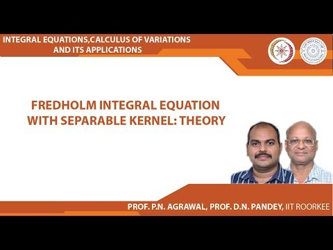Fredholm integral equation with separable kernel: Theory
