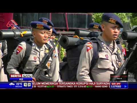 Polda Jatim Kirim 2 SSK Brimob ke Jakarta