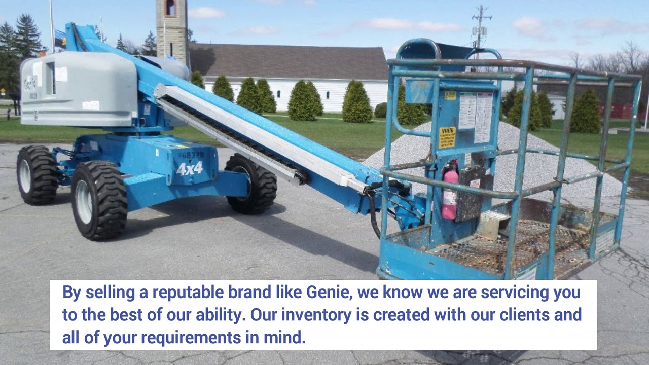 Genie Lift for Sale | Used Boom Lifts, Forklifts, Scissor Lifts
