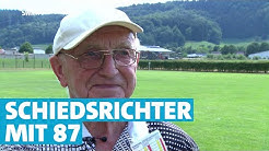 Pfeifen mit 87 - Einer der ältesten Schiedsrichter Deutschlands | SWR | Landesschau Rheinland-Pfalz