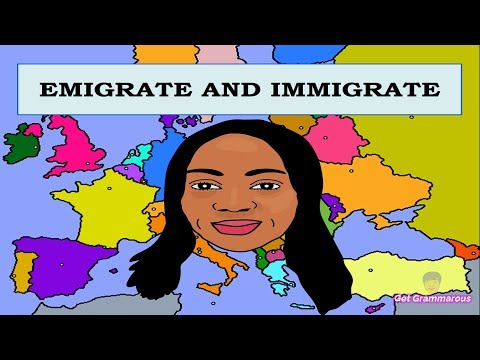 EMIGRATE AND IMMIGRATE | Learn Their Difference.
