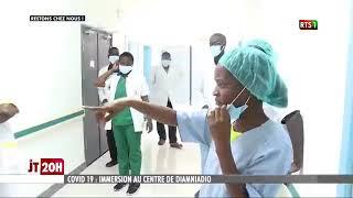 Covid-19 Centre de traitement Diamniadio