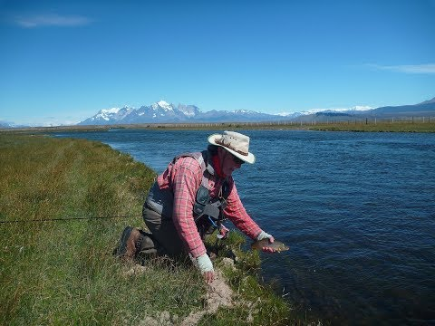 Trout fishing Paradise in Southern Patagonia