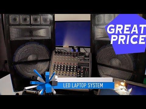 Laptop Karaoke System | Complete Professional Karaoke System | Recording System | Light Show