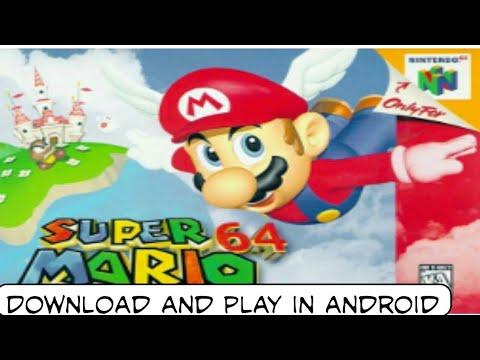 super mario 64 emulator android