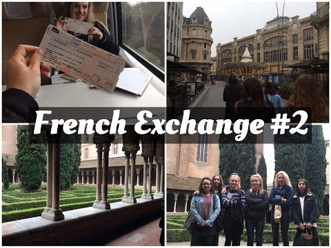 Travel Vlog // EXCHANGE #2 Exploring Toulouse, Shopping and