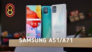 Быстрый обзор | Samsung A51 с камерой в экране