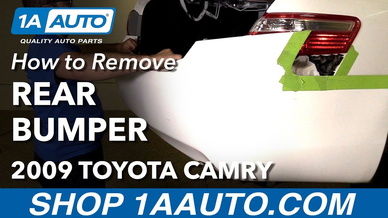 How To Remove Reinstall Rear Bumper 2009 Toyota Camry Youtube. How To Remove Reinstall Rear Bumper 2009 Toyota Camry 1a Auto Parts. Toyota. Toyota Camry 1994 Parts Diagram Headlight At Scoala.co