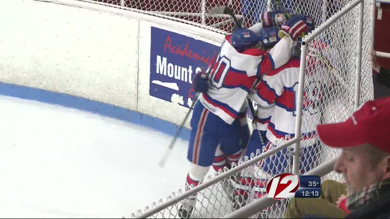 2020 Mount St Charles Christmas Tournament Boys Hockey: Mount St. Charles Wins Holiday Face Off Tourney   YouTube