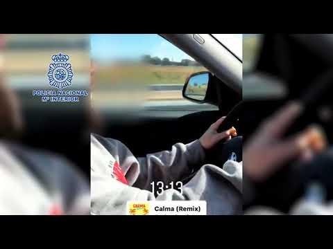 Detida unha menor por conducir a máis de 220 km/h mentres era gravada