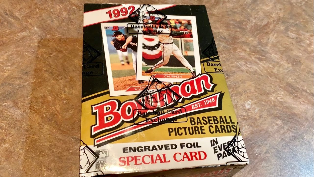 1992 Bowman Box Break And The Search For A Mariano Rivera Rookie Card Throwback Thursday