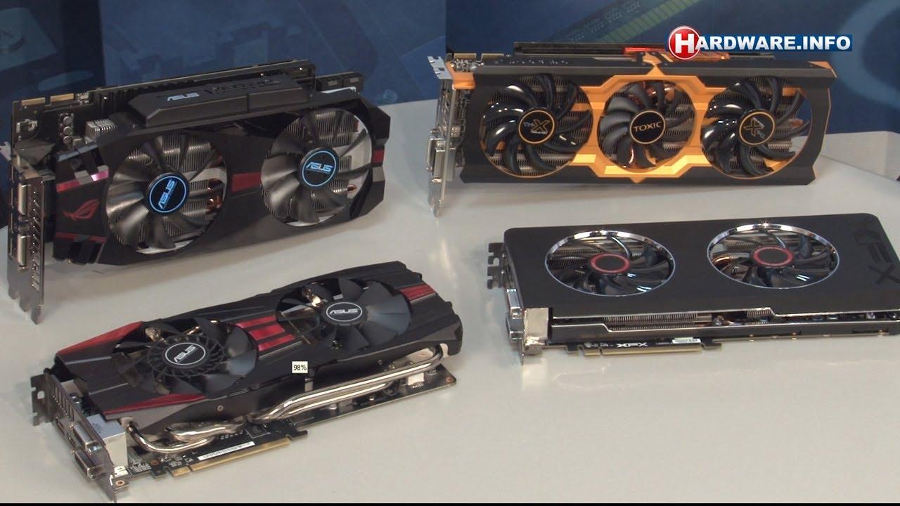 AMD Radeon R9 280x kaarten van ASUS, MSI, XFX en Sapphire - Hardware Info  TV (Dutch)