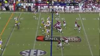 TJ Yeldon Game Winning Touchdown w/ Eli Gold Call