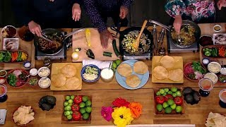 Tostada Cook Off: Ana Navarro Vs. Sunny Hostin | The View