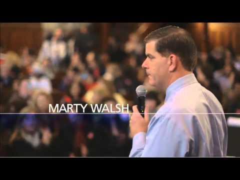 Marty Walsh One Boston