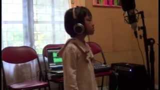 Anak berbakat Menyanyi LESTARI ALAMKU oleh Kinasih L  Priyono