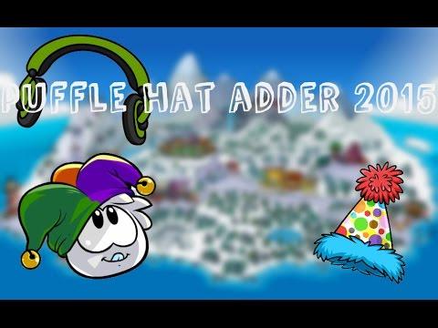 Puffle hat adder 2015 club penguin youtube