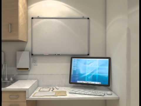 CGI Animation - eLearning healthcare exam room demo