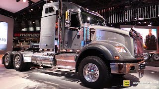 2018 International HX 620 Truck - Exterior Walkaround - 2017 NACV Show Atlanta