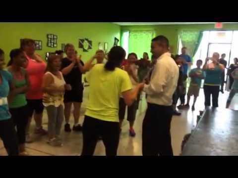 Zumba Surprise Proposal @ Dynamic Dance & Fitness