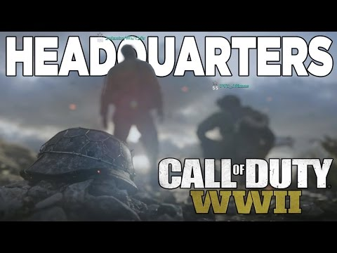 What is Headquarters? (Call of Duty World War 2 Multiplayer Info)