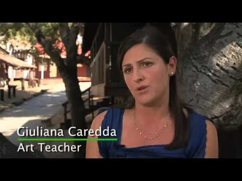 Calmont School Teacher Profile: Guiliana Caredda - Art