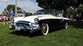 1955 Studebaker President Speedster In Black & White & Engine Start My Car Story With Lou Costabile