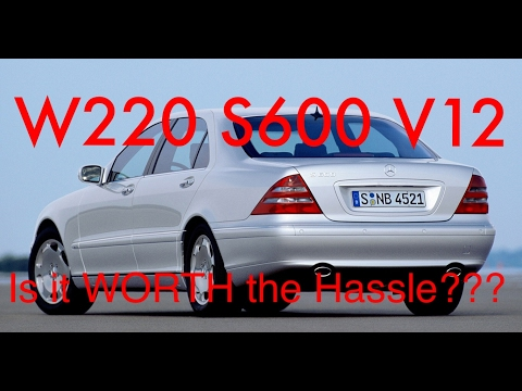 Long Term Ownership Review of a 2001 MB S600