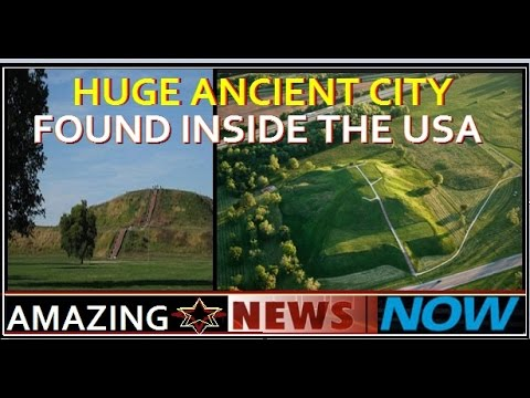Ancient PYRAMID city - GREATER than in EGYPT - In UNITED STATES