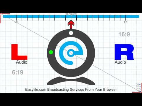 EASYLIFE TEST CARD AUDIO VIDEO SYNC 16:9 10 min Ver2 1080 30FPS