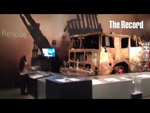 Remembering 9/11 at the New York State Museum.