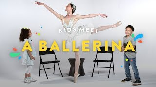 Kids Meet a Ballerina | Kids Meet | HiHo Kids