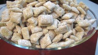 Lemon Bar Muddy Buddies -- Lynn's Recipes