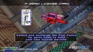 f zero ax x dolphin emu attract mode tutorial and title sequence