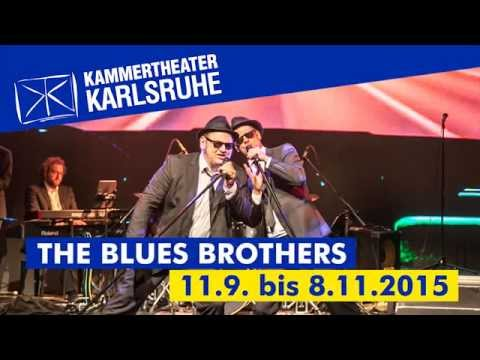 the blues brothers 2015 im kammertheater karlsruhe youtube. Black Bedroom Furniture Sets. Home Design Ideas
